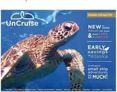 UnCruise Adventures brochure