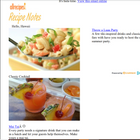 """""""Luau Party"""" consumer email with Allrecipes"""