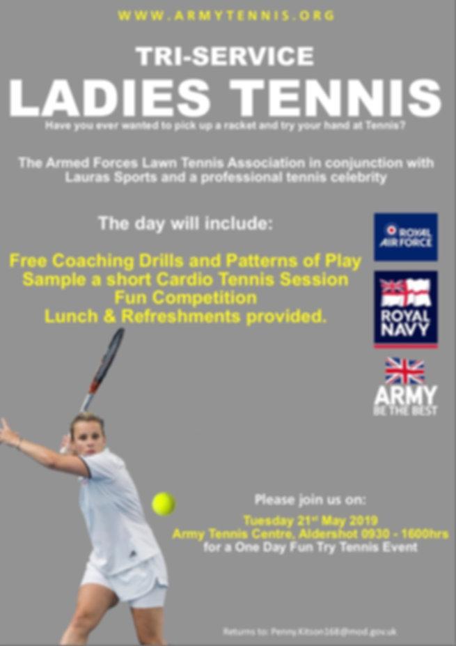 2019 Tri Service Ladies Tennis Poster V2
