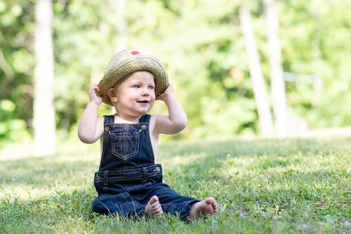 Toddler boy portrait