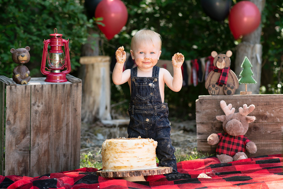 Lumberjack Cake Smash