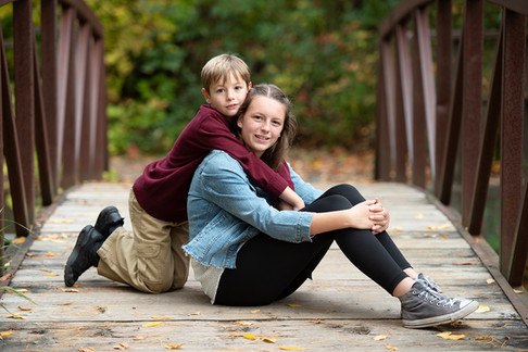 Sister and Brother portrait