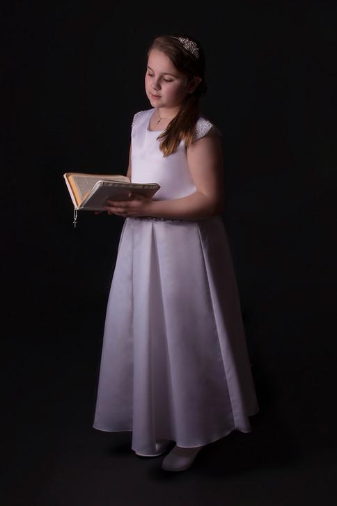 1st Communion Portrait