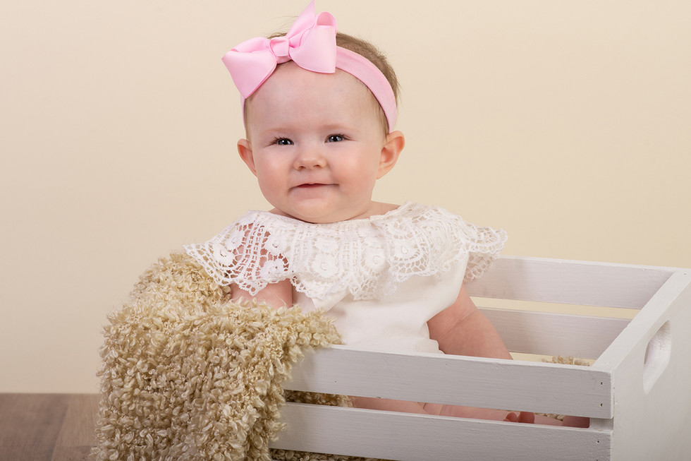 Milestone Baby Portrait