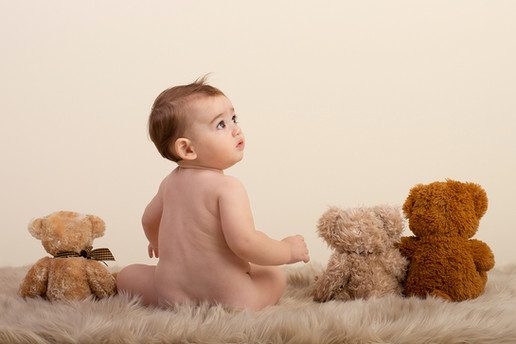 Bear Bums Portrait
