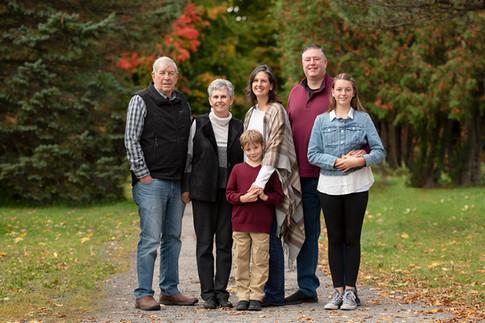 Fall Family Portait