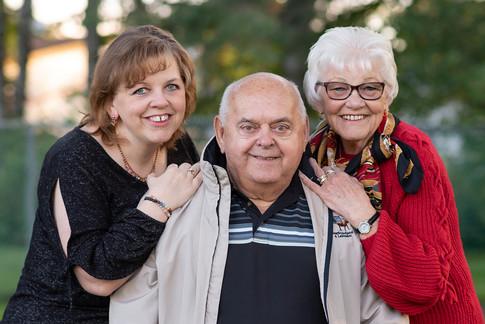 Mature Family Portrait