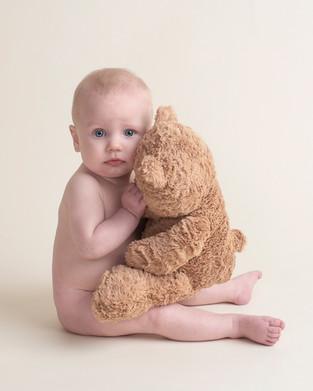 Toddler boy with Teddy Bear