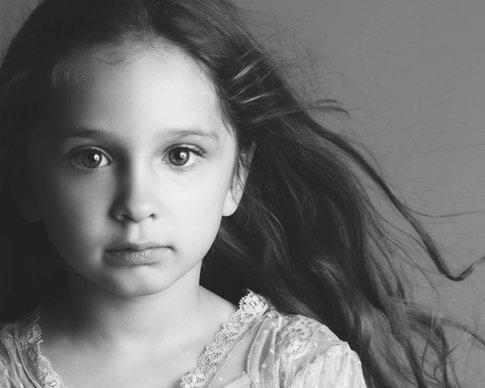Vintage Girl Portrait