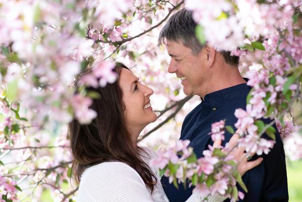 Cherry Blossom Portrait
