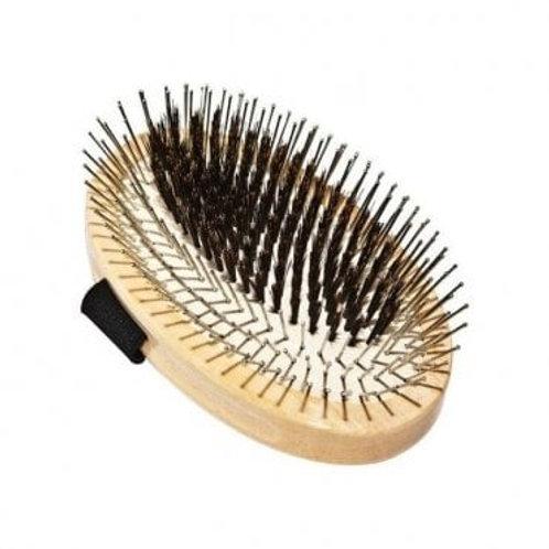 The Bass Standard Pin Palm Pad Brush