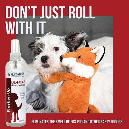 Fox poo Freshen up spray