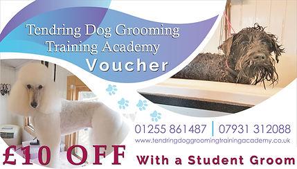 tendring dog grooming academy voucher