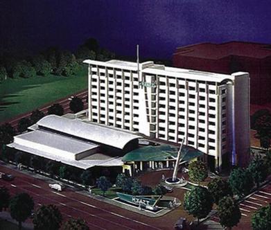 Hyatt Rosemont Hotel Concept Model