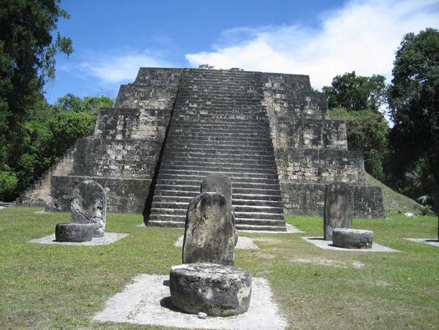 Ancient Celestial Observation Platform, Tikal National Park, Ancient Maya Civilization Architecture