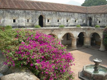 Antigua Convent Courtyard