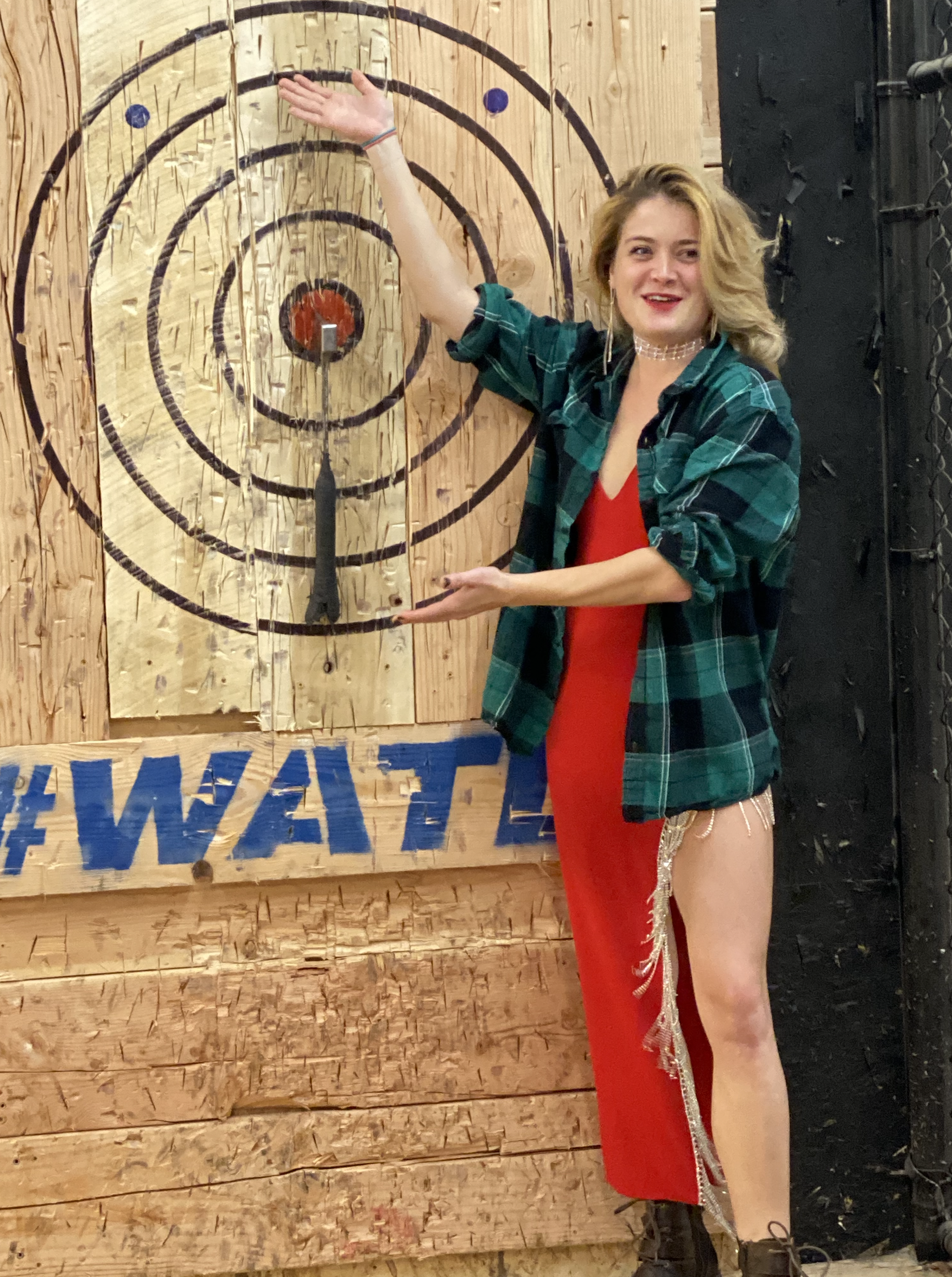 Axe Throwing Competition