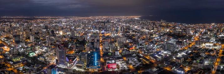 Santo Domingo Panoramic Featuring the Acropolis Center