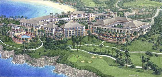 Roco Ki Conference Center & Golf Clubhouse Concept