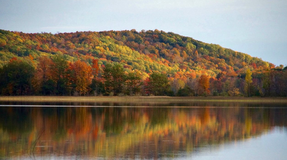 Benzie County Michigan Fall Colors