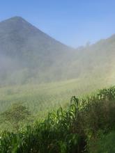 Lago Atitlan Vegetated Dormant Volcano