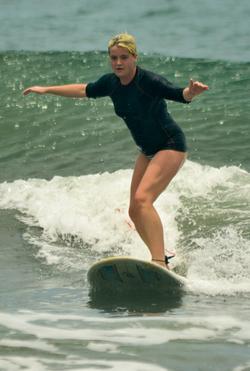 Surf is up in Santa Teresa