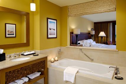 Westin Single Bay Model Hotel Room