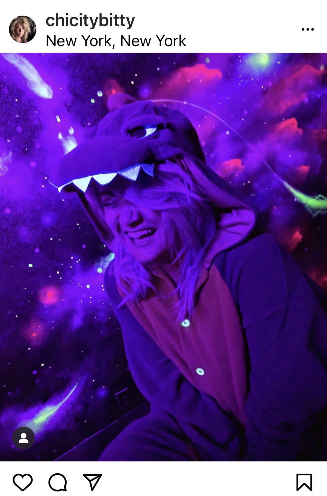 Purple Barney Furry
