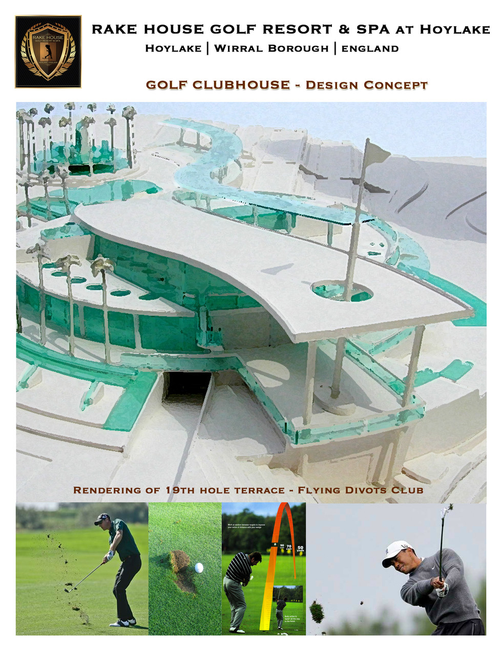 Rake House Golf Resort Clubhouse
