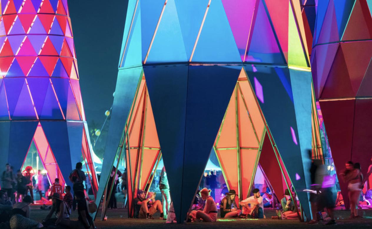 Cochella Concert Tent