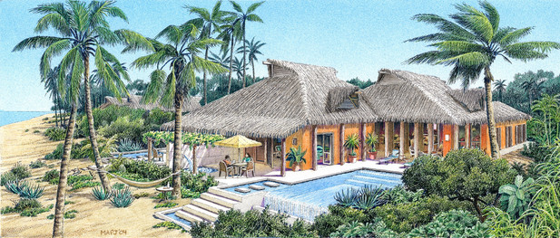 Roco Ki Beach Front Vacation Home Concept