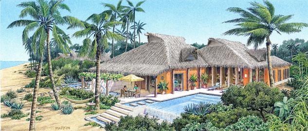 Roco Ki Beach Front Vacation Home Concept