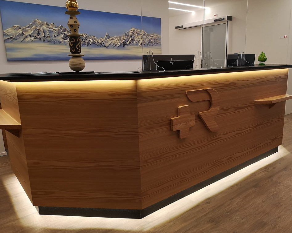 St. Raphael Gesundheitszentrum in Naters