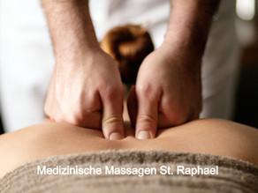 Medizinische Massagen - Für Ihre Gesundheit -  St. Raphael im Herzen von Naters