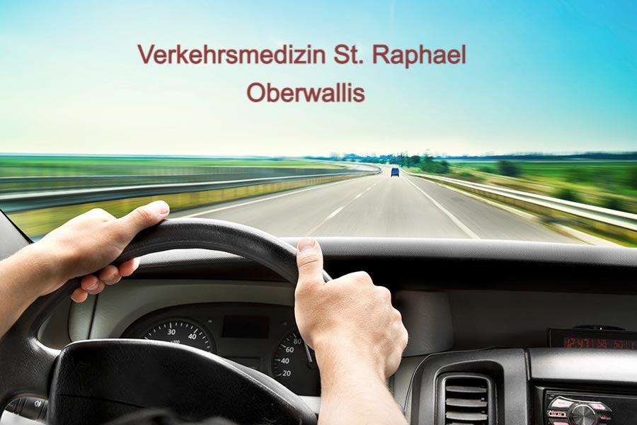 Verkehrsmedizin St. Raphael Oberwallis - Wir führen den verkehrsmedizinischen Test gemäss gesetzlichen Vorgaben für Sie durch.