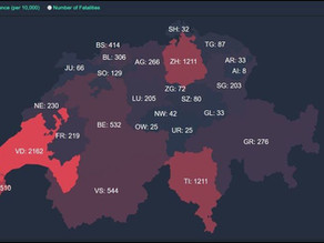 Aktuelle Corona Virus Zahlen – Kanton & Bund