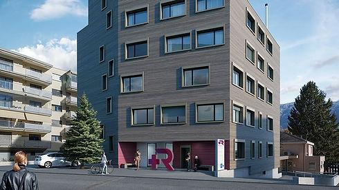 Gesundheits Zentrum Sankt Raphael im Herzen von Naters - Wallis - Schweiz