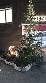 Öffnungszeiten an Weihnachten - Neujahr vom Medizinischen Zentrum St. Raphael im Herzen von Naters