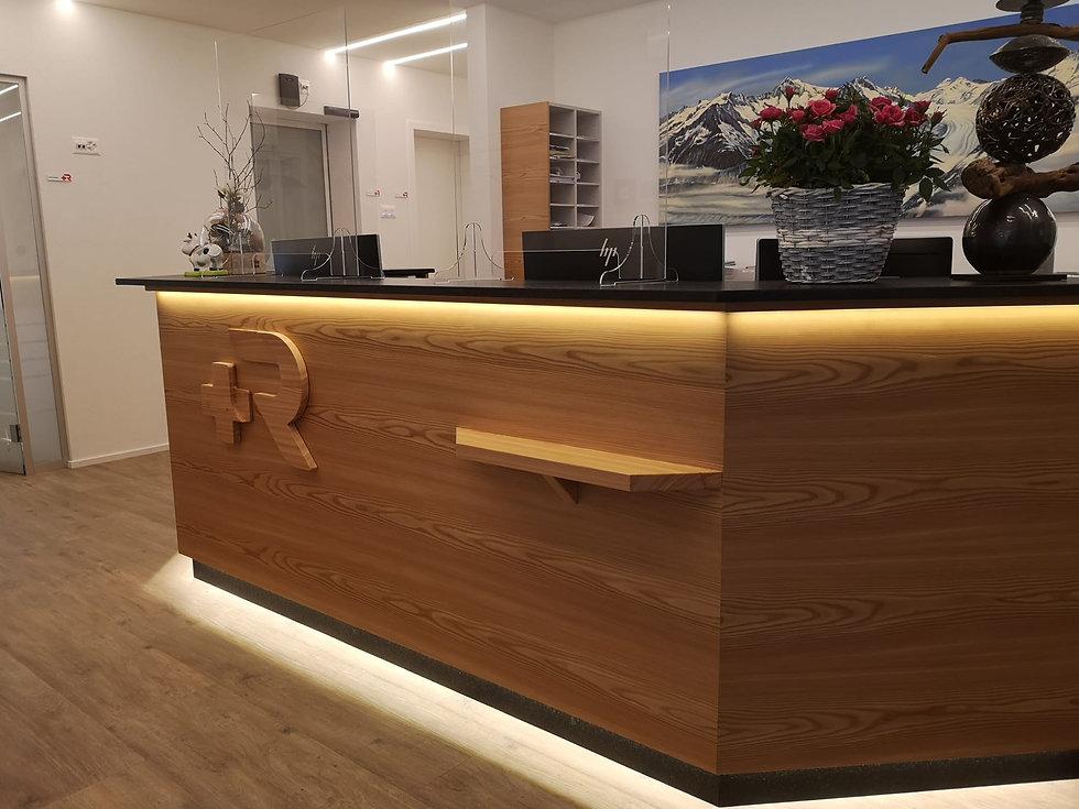 © Zahnmedizin St. Raphael im Medizinischen Zentrum St. Raphael im Herzen von Naters