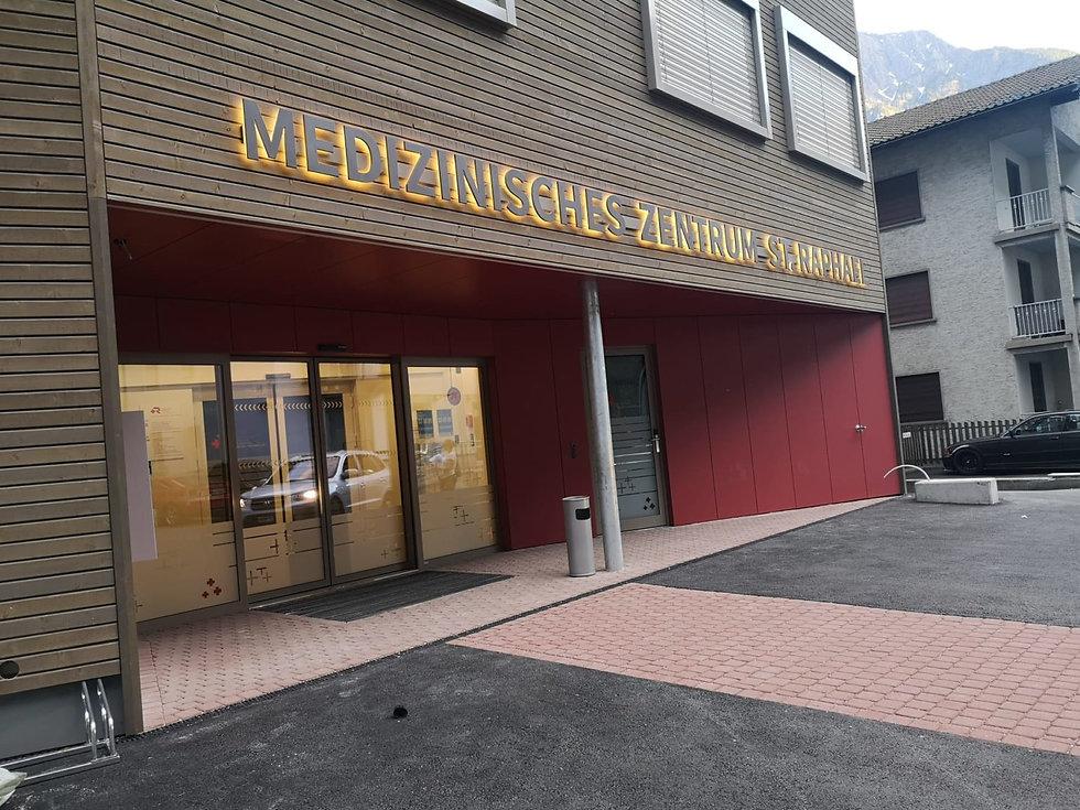 Medizinisches Zentrum Sankt Raphael im Wallis