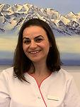 Frau V. Iljazi Dentalassistenntin Zahnmedizin St. Raphael in Naters