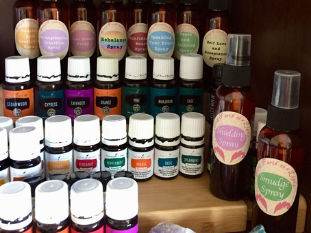 Love Those Essential Oil Sprays!
