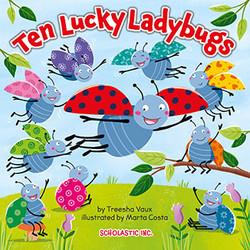 Ten Lucky Ladybugs