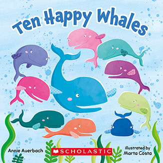 Ten Happy Whales