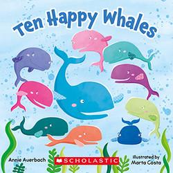 Ten Happy Whales