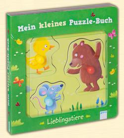 Lieblingstiere - Mein Kleines Puzzle-Buch