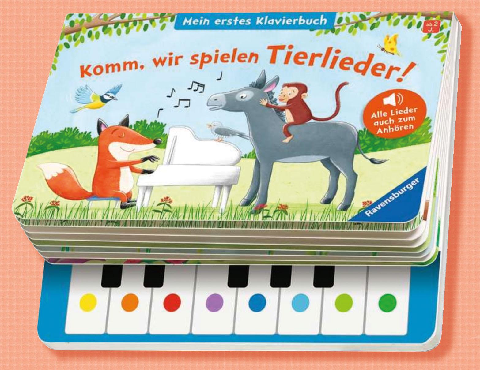 Komm, wir spielen Tierlieder!