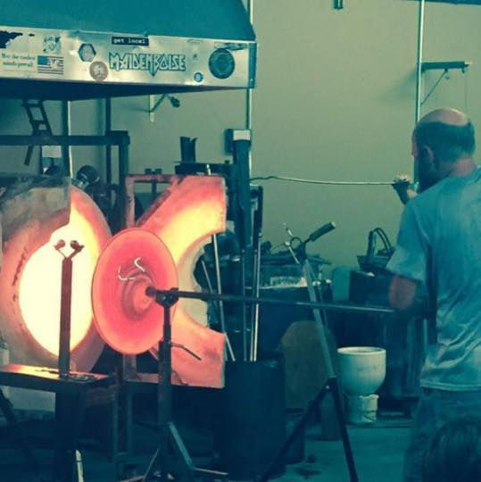Glassblowing Lesson for Four