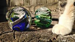 Animal Ash Glass Orb