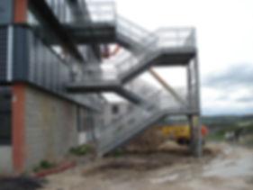 escalier acier 95